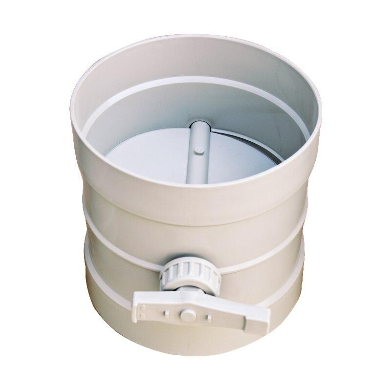 Plastic air damper valve HVAC electric air duct motorized damper for ventilation pipe valve 220V 24V 12V 50-200mmPlastic air damper valve HVAC electric air duct motorized damper for ventilation pipe valve 220V 24V 12V 50-200mm