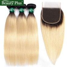 de fermetures blonds cheveux