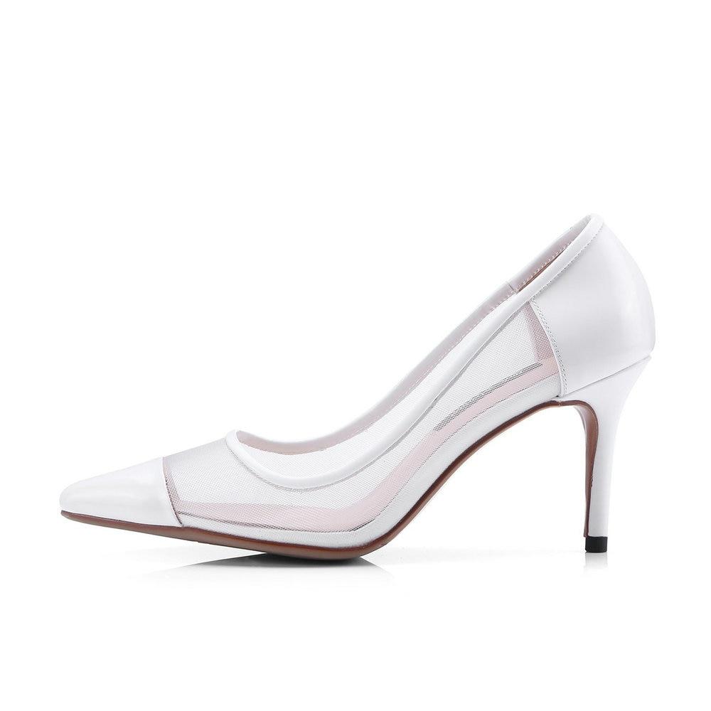 Mariage Apricot Voir Haute De En Cuir Hauts Noir Femmes Aiweiyi black Chaussures Femme Talons Dames white Sexy Pompes À Véritable Travers m8nwO0vN
