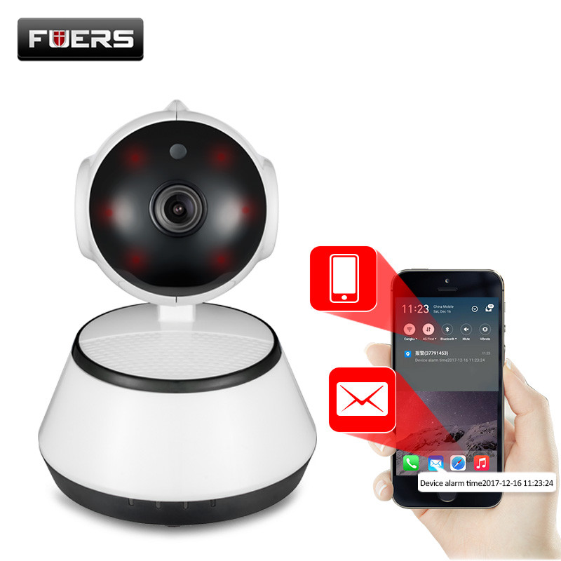 Fuers 720P IP Camera Wi Fi Wireless Surveillance Camera P2P CCTV Wifi Ip Camera Free APP