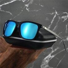 Брендовые поляризационные солнцезащитные очки для мужчин для вождения солнцезащитные очки ретро для женщин алюминиевый магний мужские зеркальные солнцезащитные очки NX