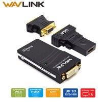 Wavlink USB 2 0 To DVI VGA HDMI Video Graphics Display Adapter UP To 1920 X