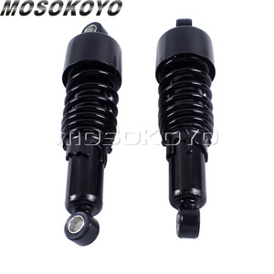 """Image 2 - 260mm Motorcycle 10.5"""" Rear Shock Absorber Suspension For Harley Dyna 1991 2016 Touring FLH/FLT 1980 17 Sportster 883 Iron 1200"""