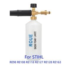 цена на Foam Generator/ snow foam lance sprayer foam gun nozzle/ High Pressure Soap Foamer for STIHLE RE98 RE108 RE118 RE127 RE128 RE163