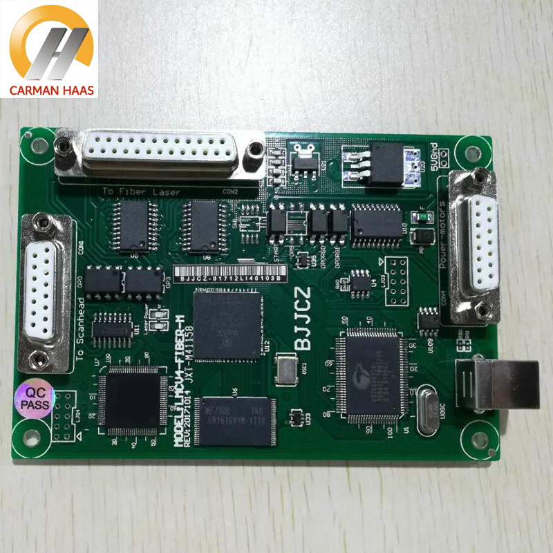 JCZ Laser Marking Card Controller Economic Card V4 Ezcard 1064nm Fiber Marking For IPG Raycus MAX good quality 10mm aperture 1064nm fiber laser engraving marking galvo head digital signal and matched marking board controller