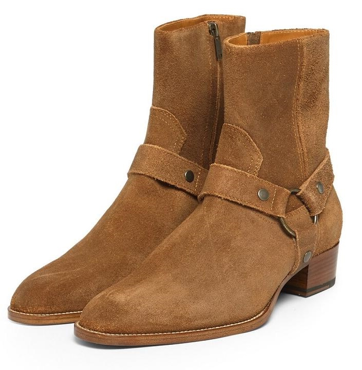 Genuine Leather Women Chelsea Boots Brand Winter Warm Short Ankle Boots Plus Size Buckle Strap Women Ankle Winter BootsGenuine Leather Women Chelsea Boots Brand Winter Warm Short Ankle Boots Plus Size Buckle Strap Women Ankle Winter Boots