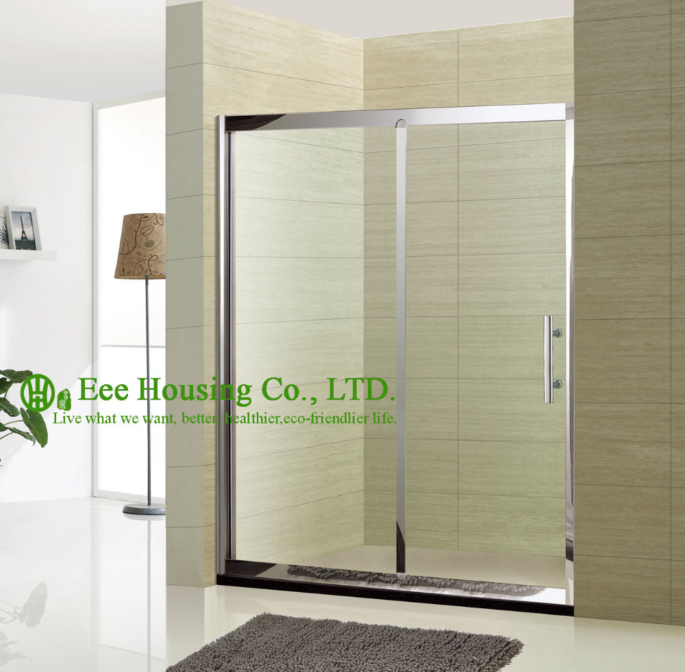 304 Stainless Steel Shower Room/bathroom Shower Door/8mm Toughened Glass Shower Enclosure/shower Cabins/simple Shower Door