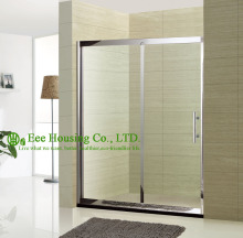 304 stainless steel room/bathroom door/8mm toughened glass enclosure/shower door & Buy interior bathroom door and get free shipping on AliExpress.com