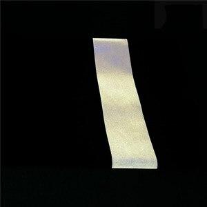 Image 5 - Cinta reflectiva de transferencia de calor para planchar en bolsas para ropa y zapatos, color plateado brillante, 5CM/2,50 CM