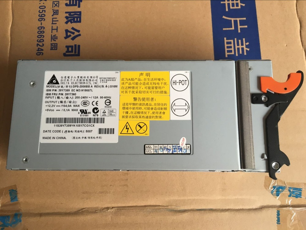 free shipping Server power supply DPS 2000BB 8677 HS20 74P4452 74P4452 39Y7359 39Y7360