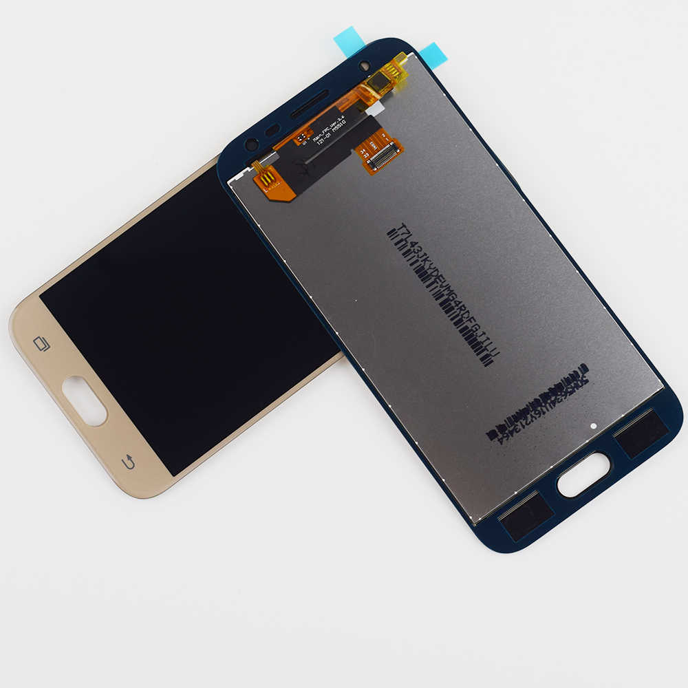 J330F LCD J3 2017 عرض مجموعة المحولات الرقمية لشاشة تعمل بلمس لسامسونج غالاكسي J3 2017 J330 شاشة عرض شاشة SM-J330