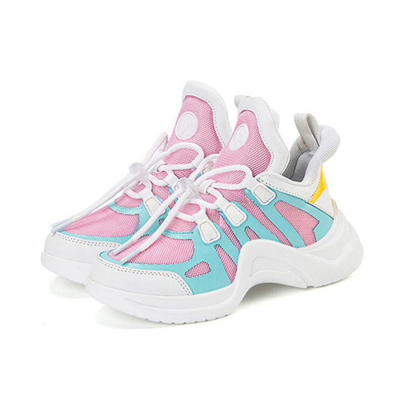 31ee78f36 Detail Feedback Questions about Trainers Girls White Sport Shoes for Boys  2019 Fashion Spring Summer Kids Sneakers Breathable Air Mesh Children  Running ...