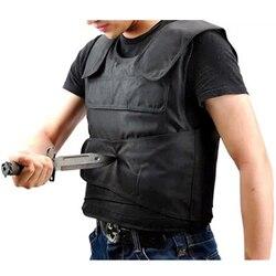 التكتيكية سترة الرجال مكافحة طعنة سترات مكافحة أداة نسخة مخصصة في الهواء الطلق الشخصية الدفاع عن النفس الأمن المعدات التكتيكية