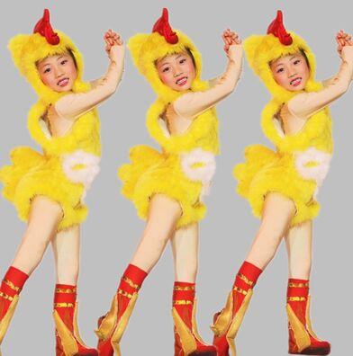 beb disfraz de pollo pollo amarillo traje de juego de los nios traje de la danza