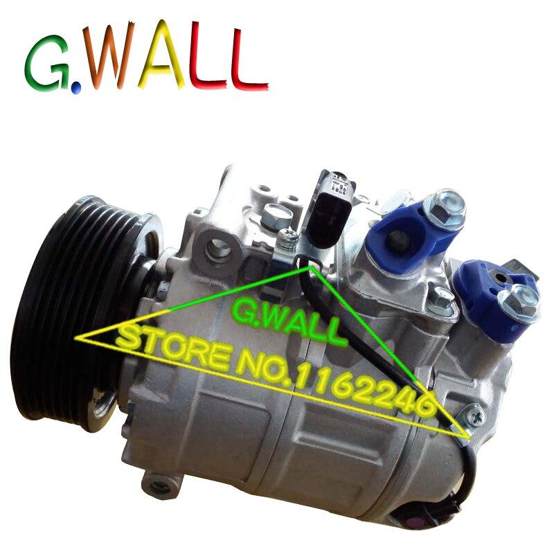7SEU17C AC COMPRESSOR For Car Volkswagen MULTIVAN V / TRANSPORTER V BUS / AMAROK 2.0 2009 2010 2011 2012 7E0820803F