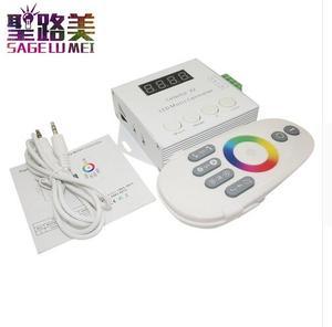 Image 3 - DC5V 12V 24V WS2812 WS2811 WS2813 6803 1903 Ic Digitale Adresseerbare Led Strip Muziek Controller Pixels Kleurrijke X1 x2 Controller