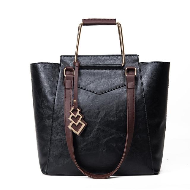 Famous Brand Women Bags 2017 Designer Handbags Bolsas Victor Hugo Leather Obag Handles Purses