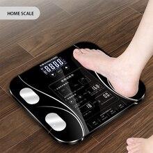 1 шт., для ванной, для тела, весы, цифровой, человеческий вес, Mi, весы, напольные, с ЖК-дисплеем, индекс тела, электронные, умные, весы, 1.9kgE