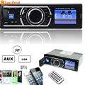 New Car Audio Rádio FM Estéreo MP3 Player Display LCD 12 V 25 W X 4CH Suporte Com USB SD MMC Porto Veículos Eletrônica In-Dash