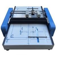 Booklet Stapling Machine A3 size Pamphlet Stapler Paper folding machine 2 in 1 110V, 60 Hz 24/6 type staples folding machine