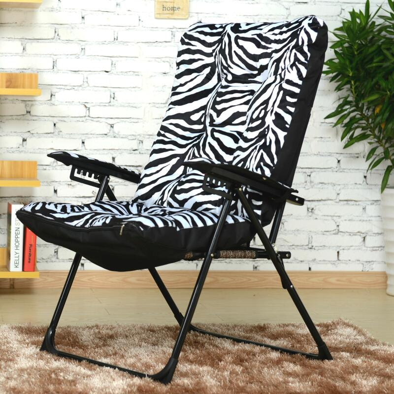 High quality comfortable lazy chair backrest folding chair with adjustable household computer office chair lying 240312 stereo thicker cushion household office chair high quality pu leather computer chair steel handrails