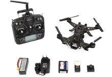Walkera pelari 250 pembalap Modular kamera HD balap Quadcopter Drone dengan kamera HD DEVO 7 transmisi gambar dasar 2 versi