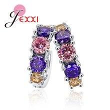 Женские Разноцветные серьги кольца модные ювелирные изделия