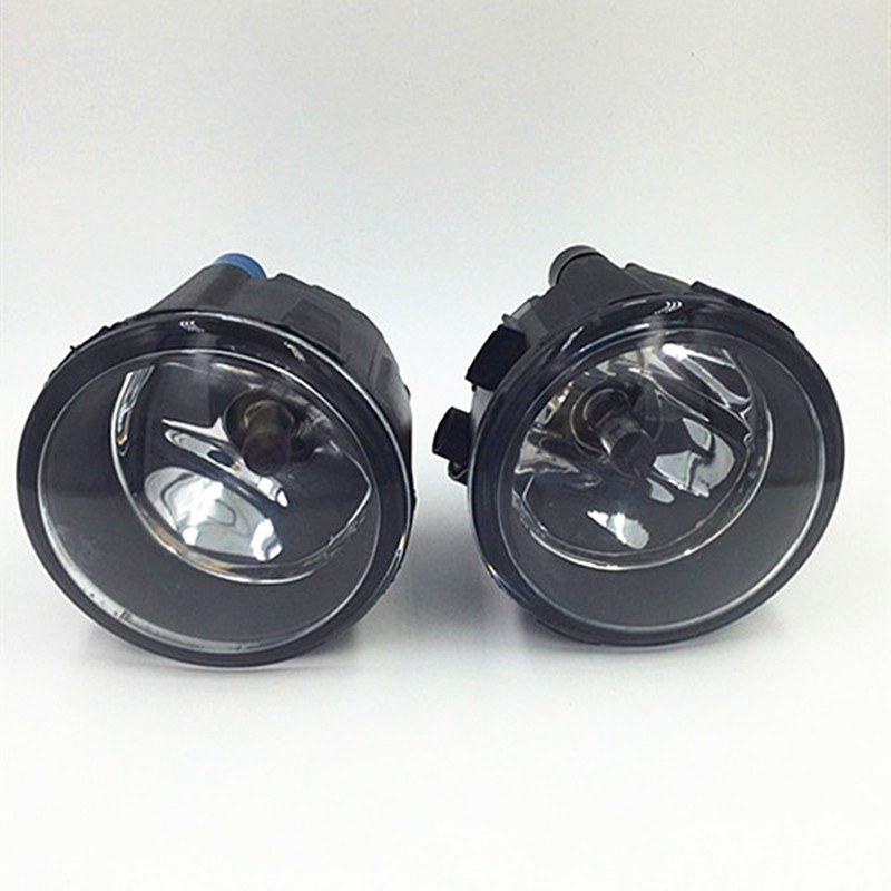 For NISSAN TIIDA Hatchback C11x 2007-2012 Car styling Fog lights Halogen fog lamps 55W 1set