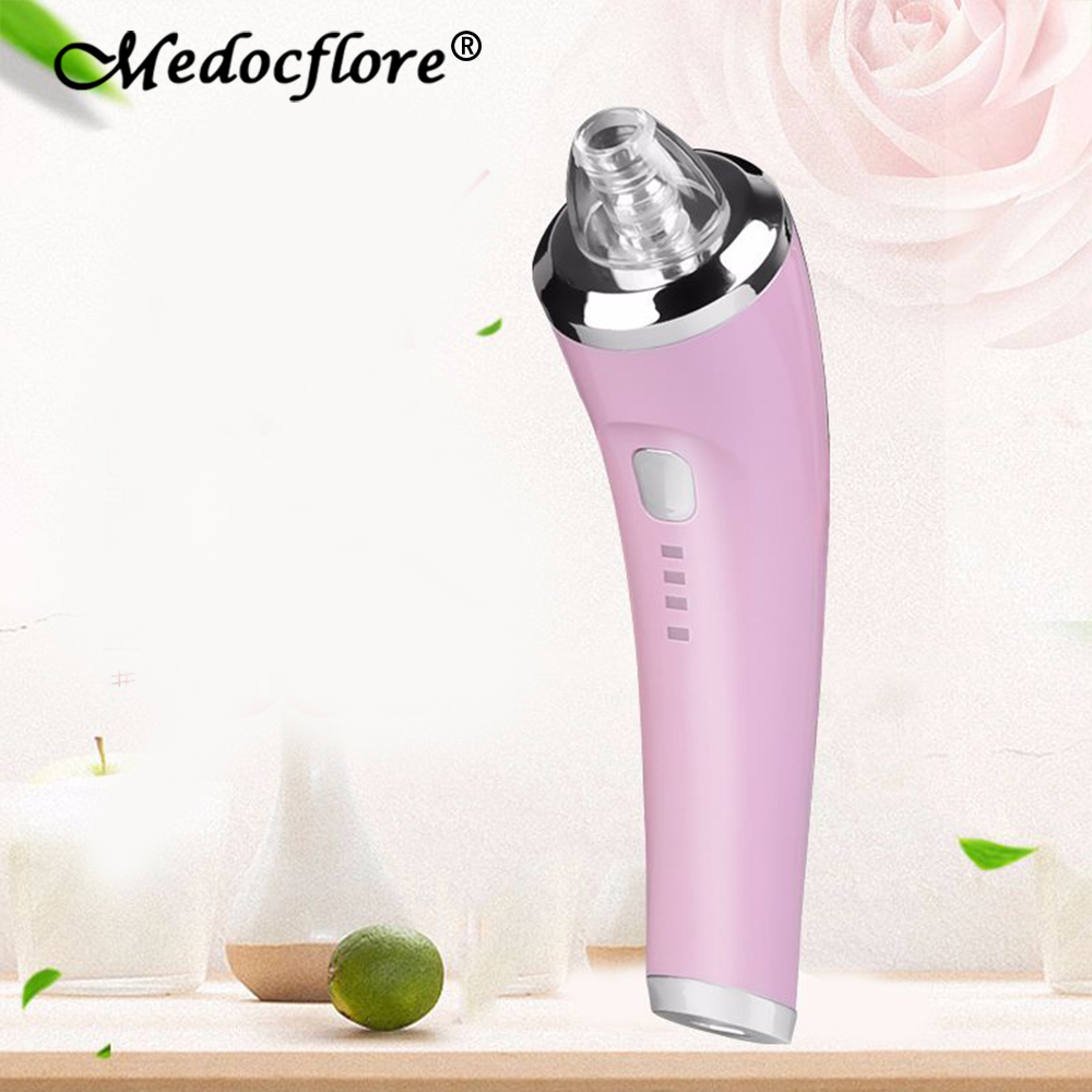 New arrive Vacuum Blackhead Remover for Face Cleaning Ance Pore black spots Cleaner USB Rechargeable Facial Skin Care Tool electric facial cleanser blackhead remover tool face spot cleaning machine for skin care usb rechargeable beauty instrument