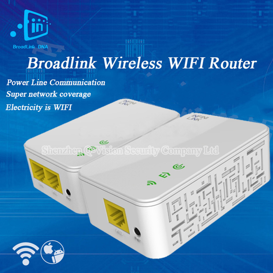 UK-EU-US-Broadlink-DNA-200M-Wireless-WIFI-Router-Powerline-Carrier-Extender-Wireless-Smart-Router-WIFI