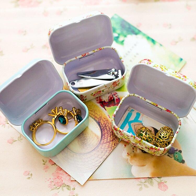 candy box small storage Colorful mini tin box Sealed jar packing boxes jewelry