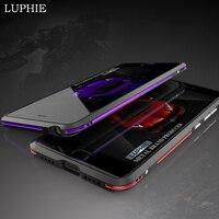 LUPHIE For Xiaomi Mi5 Case Original Luxury Hard Aluminum Frame Bumper Armor Phone Case For Xiaomi