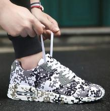 Camouflage Unisex Shoes Slipony men Height Increase male Comfort Footwear plus size 36-46