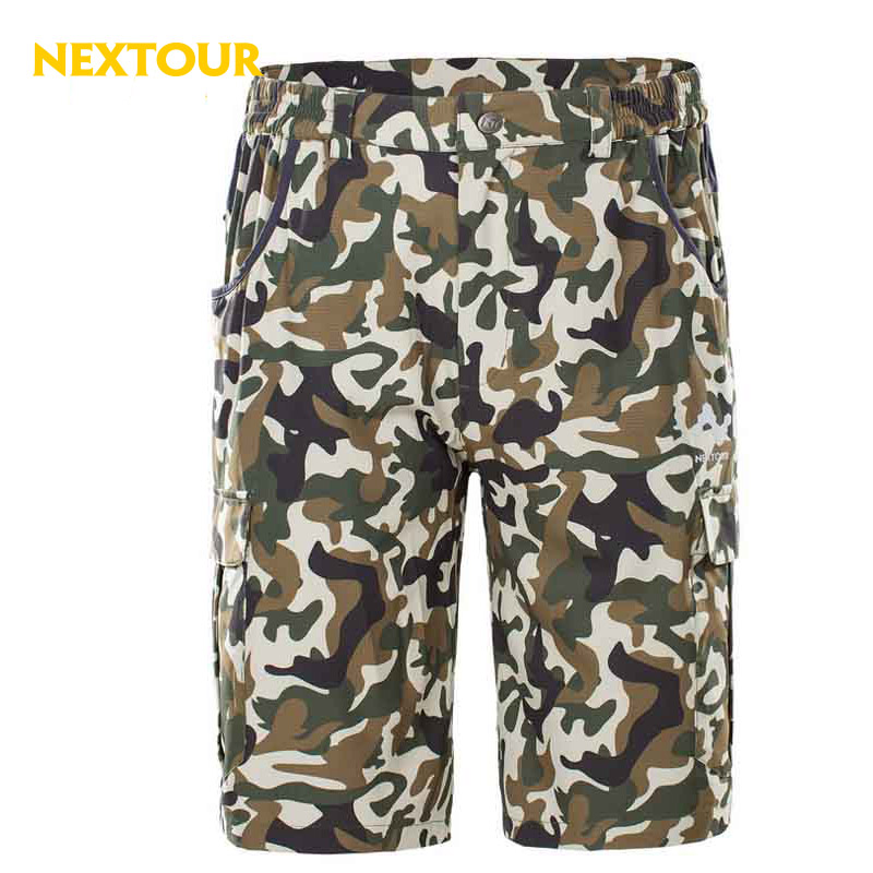 NEXTOUR outdoor shorts Summer Men Camo Short trousers Quick dry Breathable shorts hiking hunting camping male