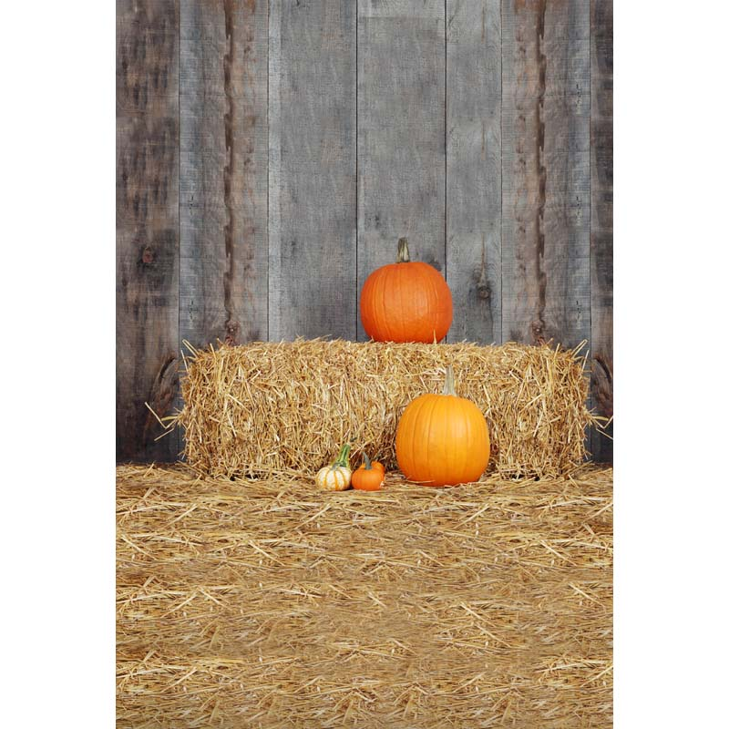 Halloween Vinyl photography background Computer printing pumpkin Photography backdrops for Photo studio HA 180