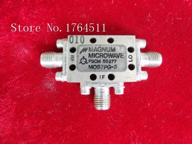 [BELLA] MAGNUM MO97PG-3 2.5-12.7GHz RF Coaxial Double Balanced Mixer SMA