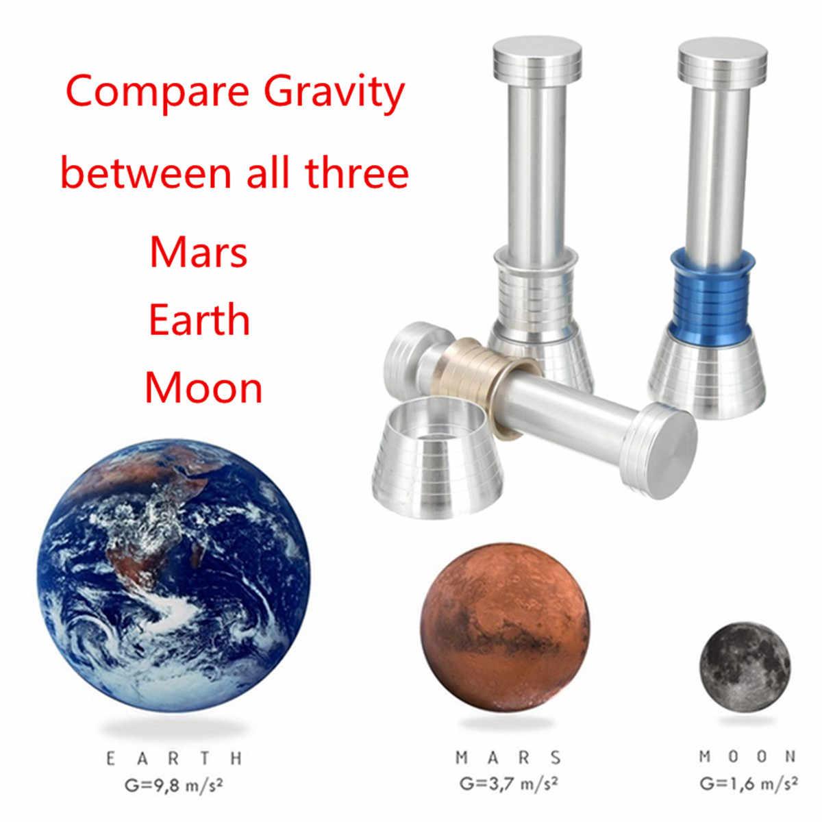 Moondrop Fidget juguete de alivio de estrés Spinner mano Spinner tri-Spinner muestra la gravedad de la Luna para la Ciencia juguetes para niños adultos juguete regalo