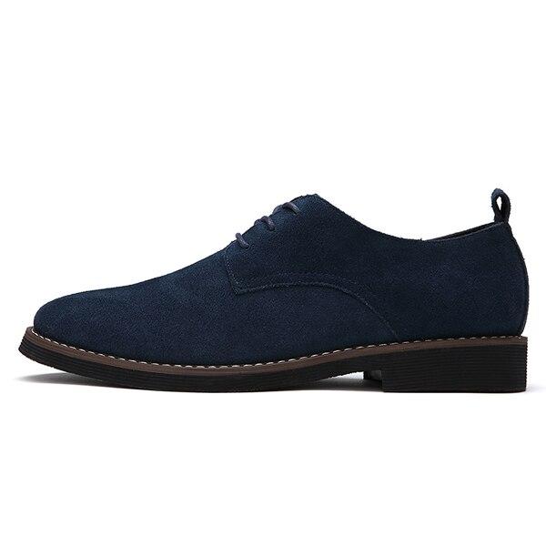 Yween Faux Men'S Suede Leder Men'S Faux Casual Schuhes Men Oxfords Spring Autumn Fashion Ox a919ff