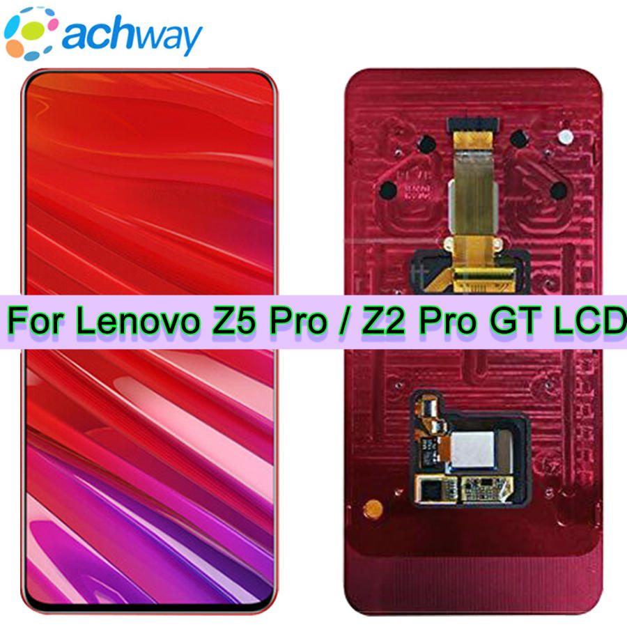 Tested Working 6 39 LCD Lenovo Z5 PRO Display L78032 Touch Screen Digitizer Panel Replace Lenovo