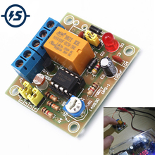 LM393 электронный DIY комплект светильник управляемый переключатель комплект светильник светочувствительный триггер выходной режим модуль Забавный DIY комплект