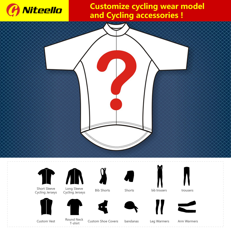 NITEELLO Custom Cycling Jersey Top Summer Racing Cycling Clothing Ropa Ciclismo Short Sleeve mtb Bike Jersey