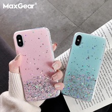 Glitter Star Silicone Case For Huawei P1