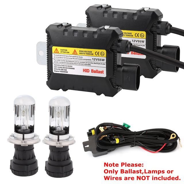 1 Piece Digital Car Xenon for HID Ballast Light Lamp Conversion Kit Replacement Slim for Ultra All Light Bulbs Fit DC 12V 35W