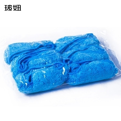 12pcs 6 double Set Blue, gray hobot 168/188 window cleaning robot cleaning cloth free shipping
