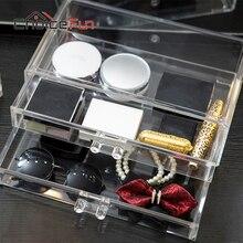 CHOICEFUN Mode 2 Schicht Hause Aufbewahrungsbox Set Für Make-Up und Büro Organizadora Desktop Organizer SF-2179-2