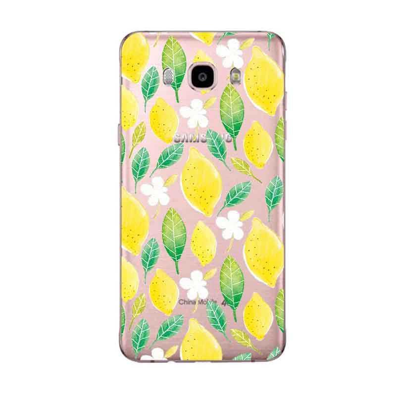 Декорации в виде панды lemon, геометрические фигуры, мягкий TPU чехол для телефона для samsung A5 J3 J5 J7 J1 J2 S6 S7 S8 S8plus note8 c5 c7 c9 S9 C273