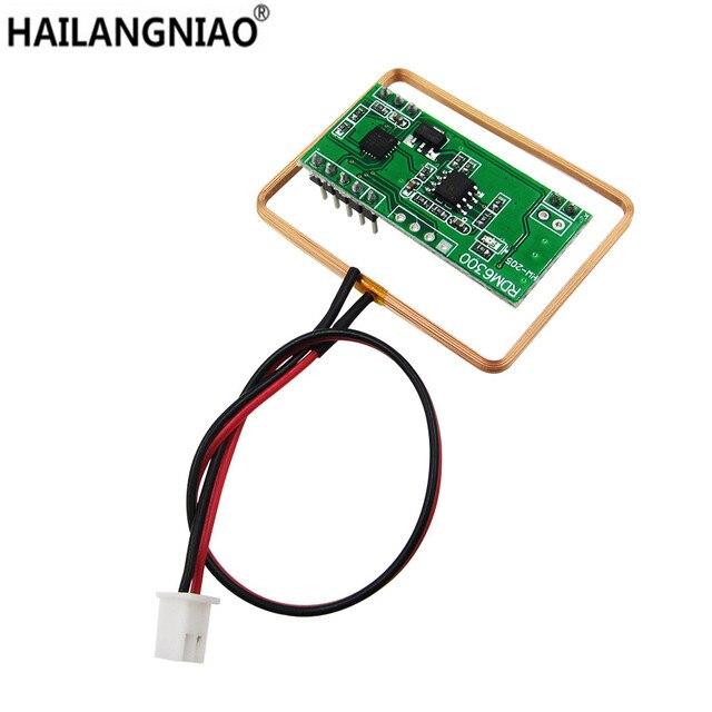 10PCS/lot 125Khz RFID Reader Module RDM6300 UART Output Access Control System 1