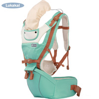 New Design HipSeat Baby Carrier BackPack 1M 6M 12M 36M Face to Face Infant Sling Cotton Wrap For NewBorn Children Baby Kangroo Backpacks & Carriers