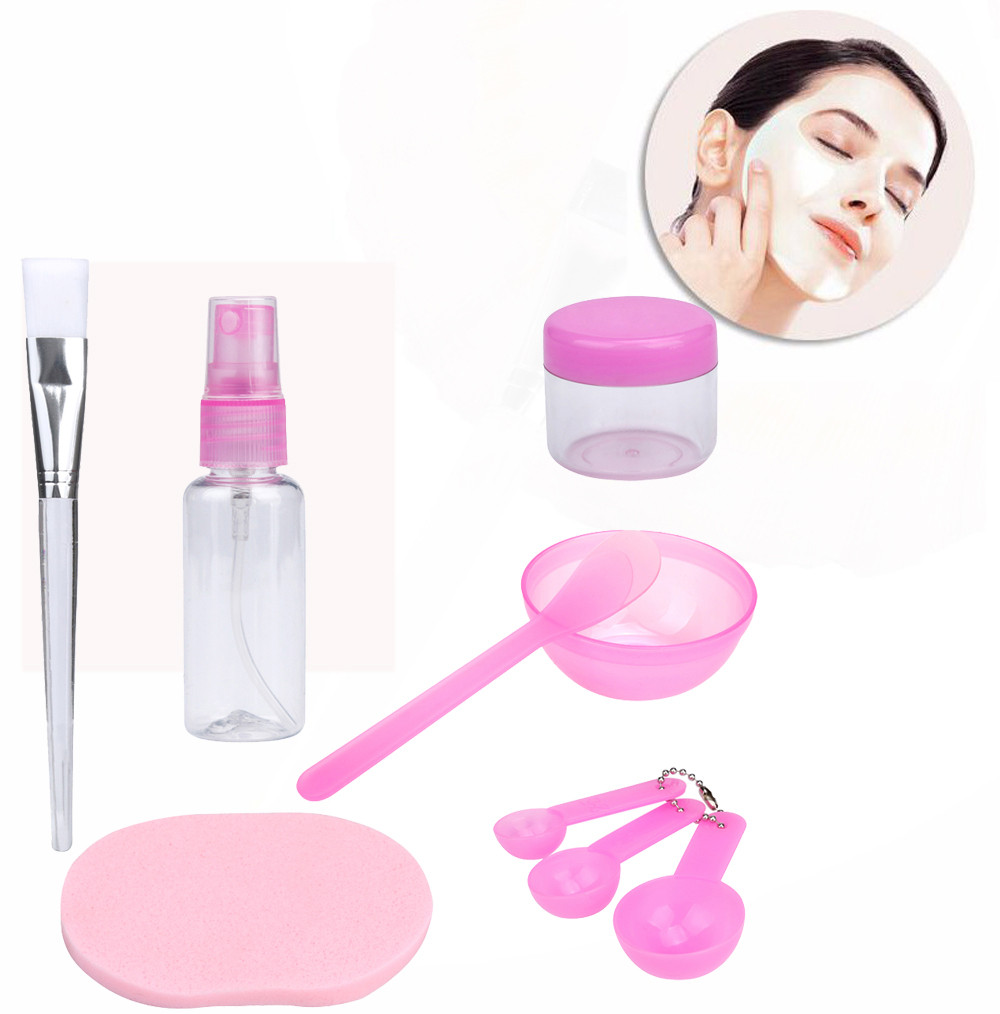 New Fashion Makeup Beauty Facial Face Mask Bowl Brush Spoon Stick Tool High Quality Mask Brush Makeup Set