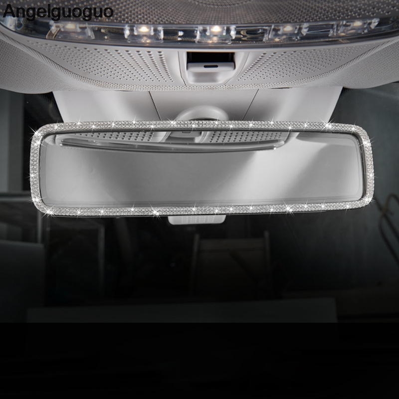 Angelguoguo Car styling For Mercedes Benz E W213 class E200 E300l 2016 2018 Interior Rearview Mirror